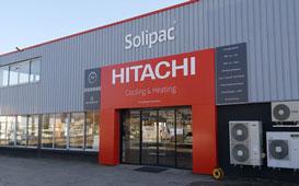 Hitachi - Solipac inaugure son 10ème comptoir à Lyon