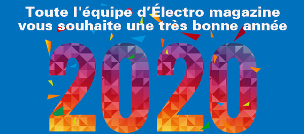 Vœux 2020 Électro magzine