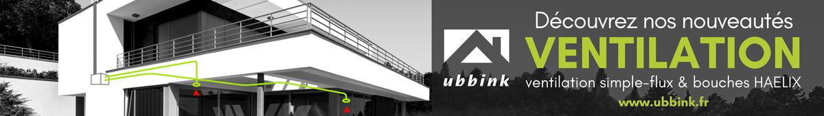 Ubbink - Offre pour VMC Simple-Flux